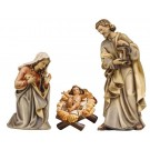Kostner Holy Family Wooden Figurines