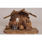 5 PIECE Kostner Tyrol Nativity Set