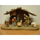 Tyrol Nativity Stable with figures