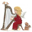 Angel Harpist