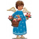 Schweizer Angel with Flower Basket