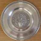 Pewter Birthday Plate