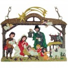 Christmas Stable Wall Hanging
