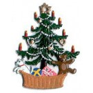 Christmas Tree in Basket