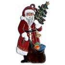 Santa with Tree and Sack