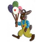 Schweizer Bunny with Balloons Ornament