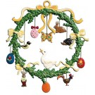 Schweizer Easter Wreath Ornament
