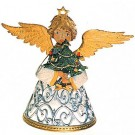 Standing Filigree Angel with Tree