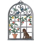 Window with Dog