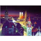 Munich by Night, German Cities, Bavaria