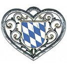 Heart with Bavarian Shield