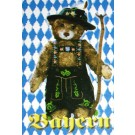 Bavarian Bear Magnet Almost Europe Tourist Shop