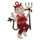Little Devil Pewter Ornament