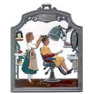 The Hairdresser Pewter Ornament