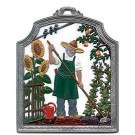 The Gardener Pewter Ornament