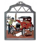 The Mechanic Pewter Ornament