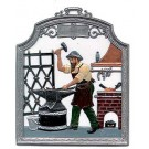 The Blacksmith Pewter Ornament