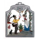 The Postman Pewter Ornament