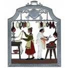 Butcher Pewter Ornament