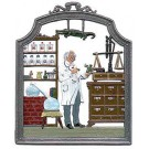 The Pharmacist Pewter Ornament