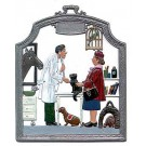 The Veterinarian Pewter Ornament