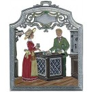 The Banker Pewter Ornament