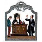 The Attorney Pewter Ornament