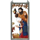 Pewter Gothic Nativity- Colour