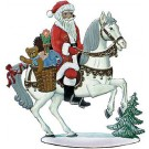Schweizer Santa On Horse