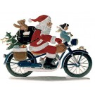 Schweizer Santa On Motorcycle