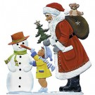 Schweizer Santa With Snowman