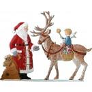 Schweizer Santa with Reindeer