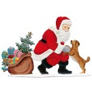 Santa and faithful friend