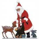 Schweizer Santa with Deer