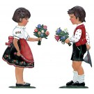 Congratulating Boy and Girl Set