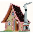 Gingerbread House Pewter Ornament