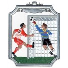 Pewter Soccer Ornament