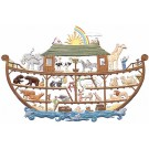 Noah's Ark Pewter Ornament