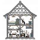 Pewter Bavarian Home Ornament
