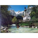 Ramsau City Bavaria Germany Poster Laminated