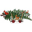 Christmas Train Car Tree