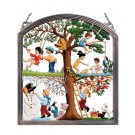Children's Four Seasons Pewter Wall Hanging