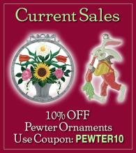 Easter Pewter ornament  sale...