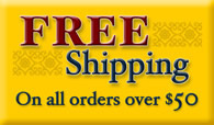Free Shipping above $50