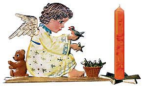 Angel With Candleholder