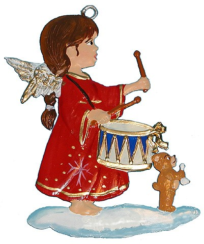 Angel with Drum