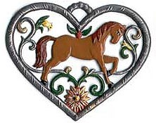 Heart with Horse