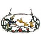 Family in Flight Pewter Wall Ornament