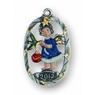 Angel with Ornament - Dated 2012!