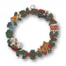 Toys in Wreath